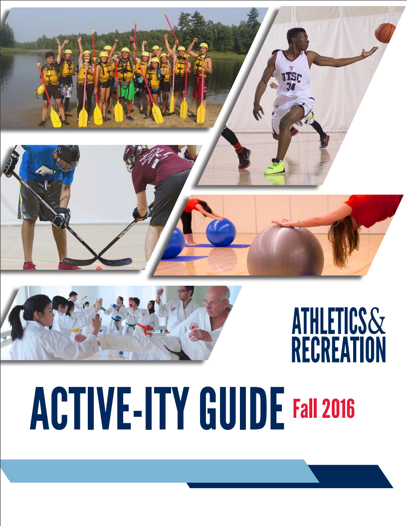 UTSC Activity guide cover