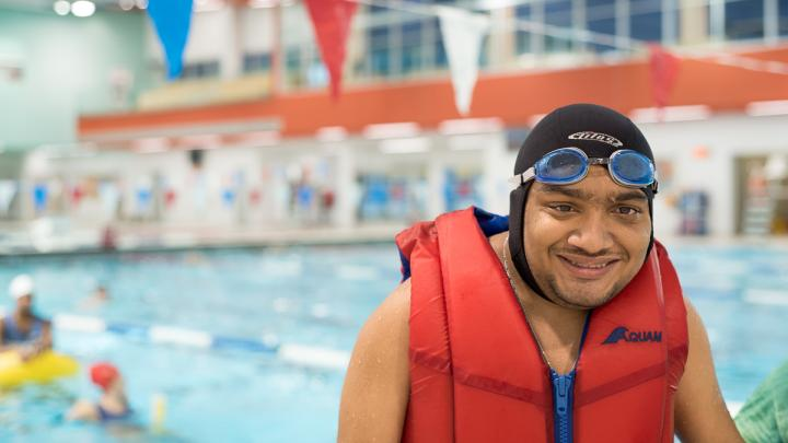 Adapted Swim Lessons: Ultra 1 & 2