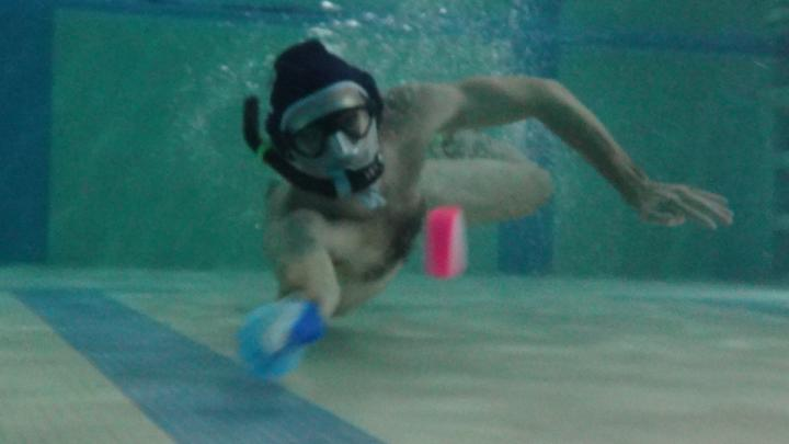 Drop-in Underwater Hockey